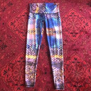 "Teeki ""Sea Fairy"" legging size small"